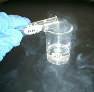 Picture of nasty hydrochloric acid